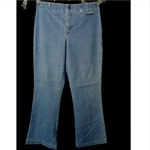 WOOLRICH Jeans sz 10 Indigo Blue wash denim pants